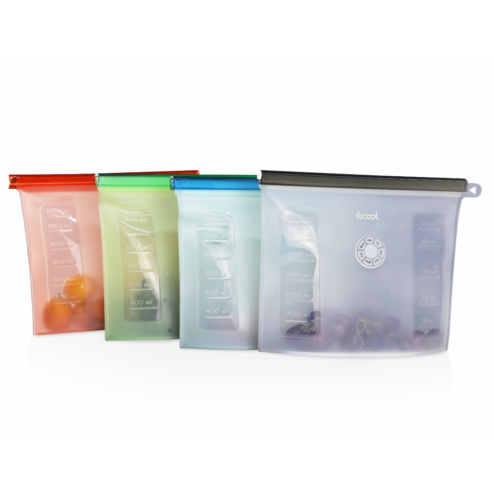Kitchen Preservation Silicone Food Storage Bag Wholesale