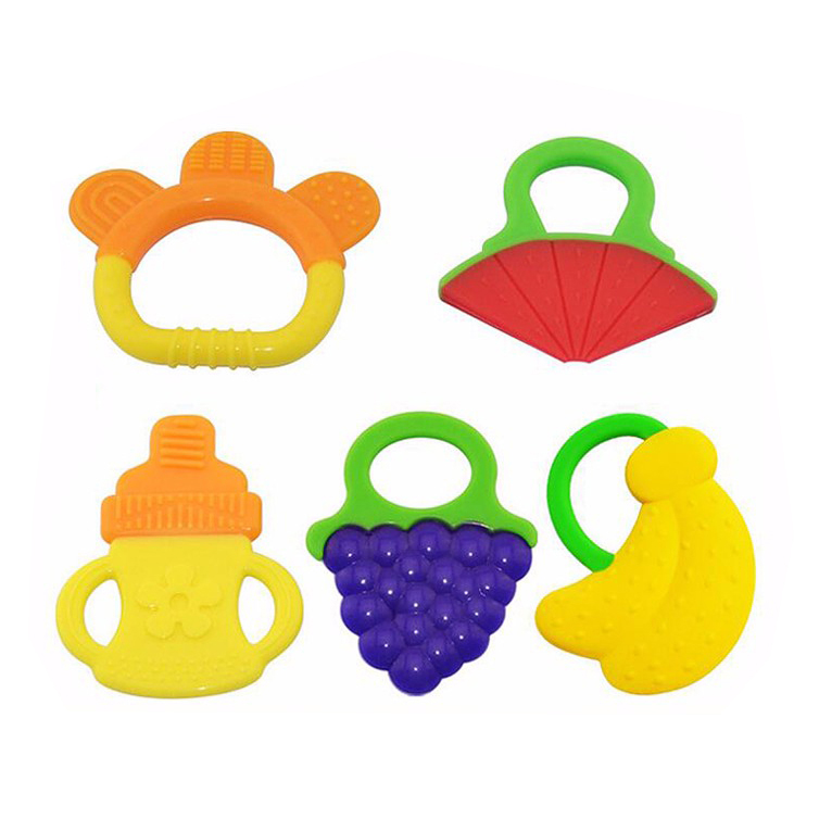 Soft Silicone Baby Teether Wholesale Silicone Teether Toys