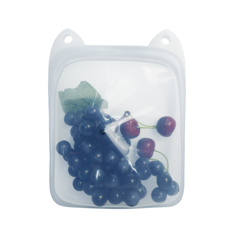 1700ml Portable Silicone Food Storage Bag
